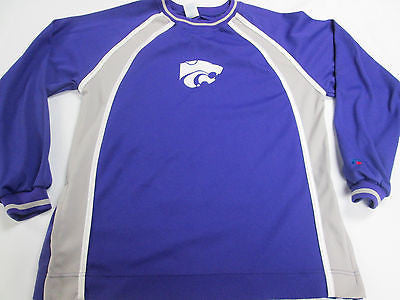 NCAA Kansas State Wildcats Long Sleeve Purple Youth Kids T-Shirt Team Shirt 15