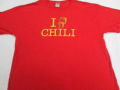 Funny Chili Toilet Bowl Love Heart Food Beans Red T-Shirt Team Shirt 20