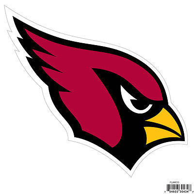 "NFL Arizona Cardinals Vinyl Car Magnet 8"" Logo Auto Tailgate Decal Sticker"