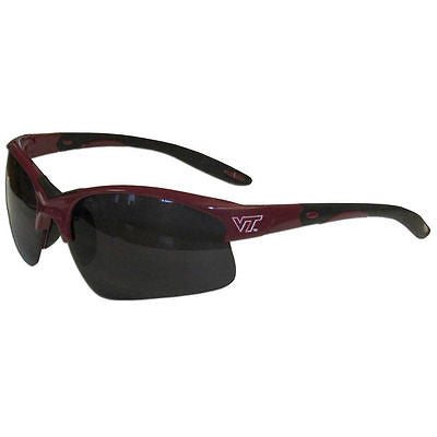 NCAA Virginia Tech Hokies Blade Sunglasses Wing Team Logo Series Sport Style