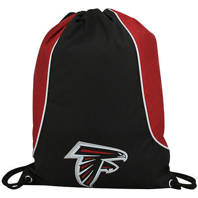 NFL Atlanta Falcons Axis Backpack Cinch String Bag Tote Drawstring Pouch Sling