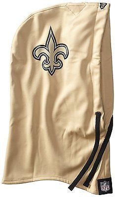 NFL New Orleans Saints New Era OTT Hood Hoodie Fleece Hat Warm Winter Ski Beanie