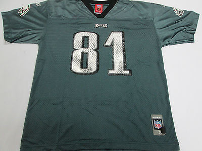 NFL Philadelphia Eagles Terrell Owens Green Youth Kids Football Jersey Shirt 10