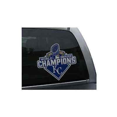 MLB Kansas City Royals World Series Champions Die Cut Window Film Sticker Decal