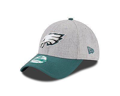 "NFL Philadelphia Eagles ""The League"" 9forty Heather Gray Hat New Era 940 Cap"