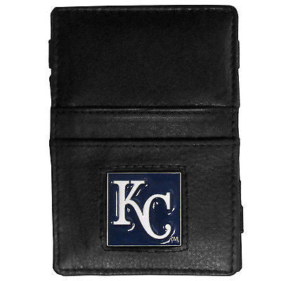 MLB Kansas City Royals Jacobs Ladder Wallet Leather Magic Cash Holder