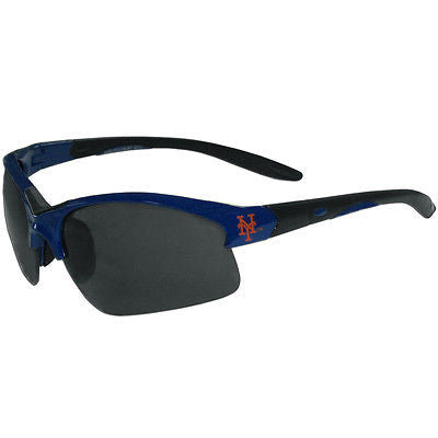 MLB  New York Mets Blade Sunglasses Wing Team Logo Sport Style Tailgate