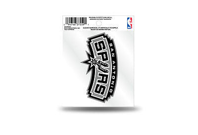 MLB San Antonio Spurs Static Window Cling Sticker Team Logo Decal