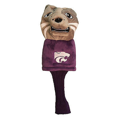 NCAA Kansas State Wildcats Mascot Golf Headcover Driver Club Jumbo Head Cover