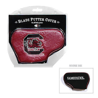 NCAA South Carolina Gamecocks Blade Putter Cover Golf Headcover Course Club Bag
