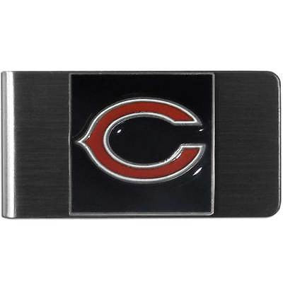 NFL Chicago Bears Money Clip Stainless Steel Cash Holder 3D Emblem