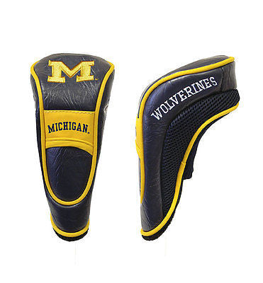 NCAA Michigan Wolverines Hybrid Golf Headcover Course Club Cover Utility Bag