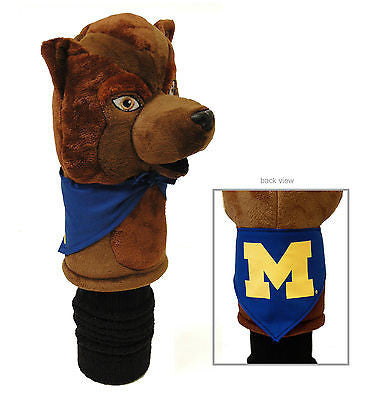 NCAA Michigan Wolverines Mascot Golf Headcover Driver Club Jumbo Head Cover