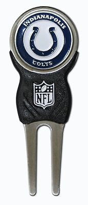 NFL Indianapolis Colts Signature Golf Divot Tool and Ball Marker Enamel Team