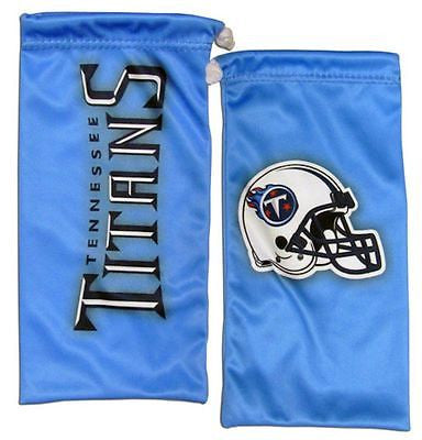 NFL Tennessee Titans Microfiber Eyewear Storage Bag Glasses Cleaning Cloth