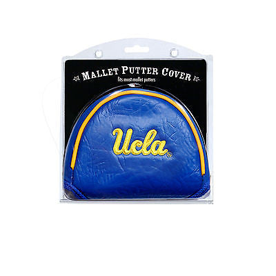 NCAA UCLA Bruins Mallet Putter Cover Golf Headcover Course Club Bag