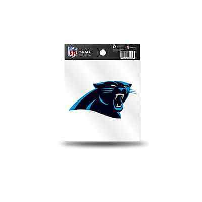 NFL Carolina Panthers Static Window Cling Sticker Team Logo Decal