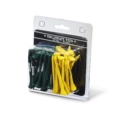 NCAA Oregon Ducks Regulation Golf Tees 50 Pack Club Driver Tee Accessory