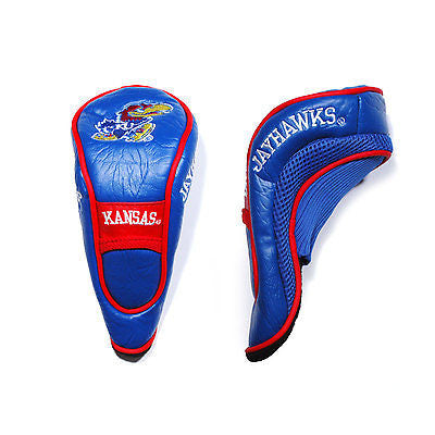 NCAA Kansas Jayhawks Hybrid Golf Headcover Course Club Cover Utility Bag