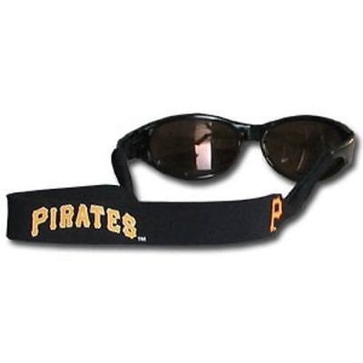 MLB Pittsburgh Pirates Neoprene Sunglasses Strap Team Croakies Eyewear Holder