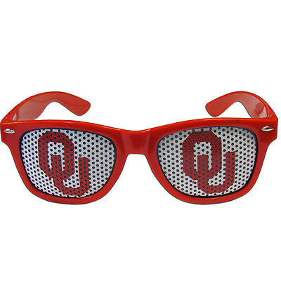 NCAA Oklahoma Sooners OU Gameday Wayfarer Sun Glasses Retro Beach Sunglasses