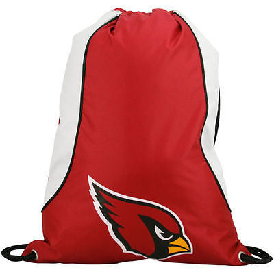 NFL Arizona Cardinals Axis Backpack Cinch String Bag Tote Drawstring Pouch Sling