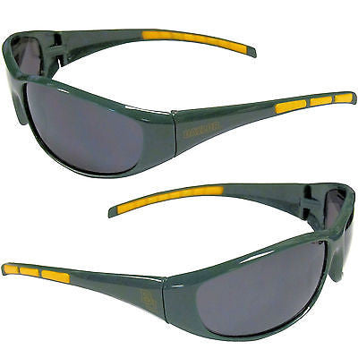 NCAA Baylor Bears 3 Dot Sunglasses Team Logo Series Sport Wrap Style