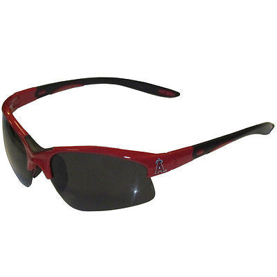 MLB  Los Angeles Angels Blade Sunglasses Wing Team Logo Sport Style Tailgate