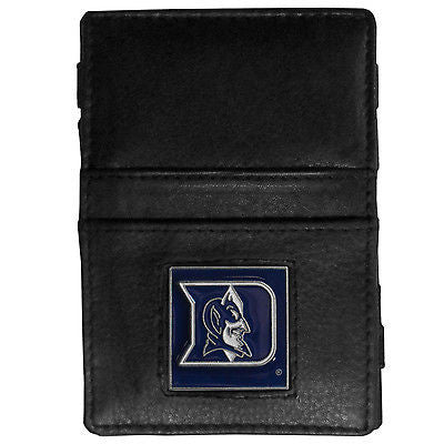 NCAA Duke Blue Devils Jacobs Ladder Wallet Leather Magic Cash Holder