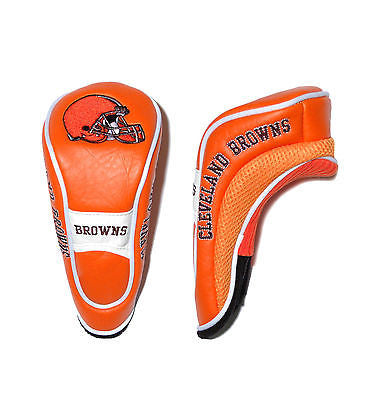 NFL Cleveland Browns Hybrid Golf Headcover Course Club Cover Utility Accessory