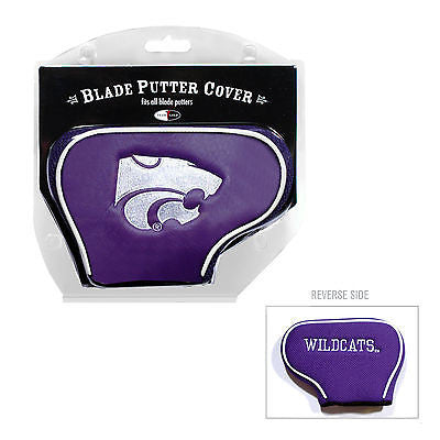 NCAA Kansas State Wildcats Blade Putter Cover Golf Headcover Course Club Bag