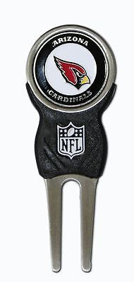 NFL Arizona Cardinals Signature Golf Divot Tool and Ball Marker Enamel Team Logo