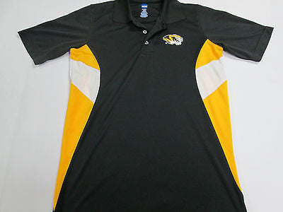 Missouri Tigers MU Black NCAA Golf Polo Shirt Casual Button Up 13