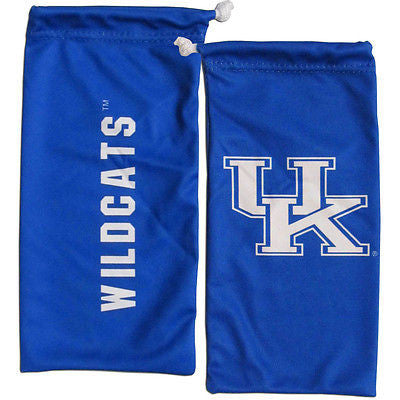 NCAA Kentucky Wildcats Microfiber Eyewear Storage Bag Glasses Cleaning Cloth