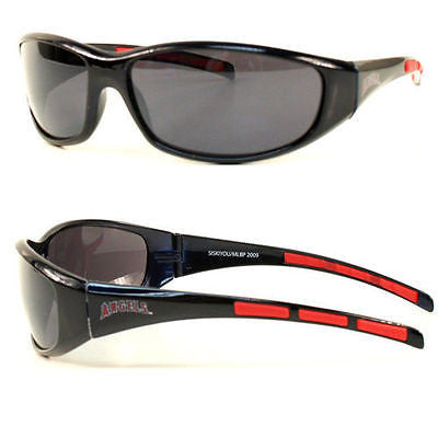 MLB Los Angeles Angels 3 Dot Sunglasses Team Logo Series Sport Wrap Style