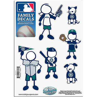 MLB Seattle Mariners Family Decal Pride Team Sticker Car Auto Sticker 6