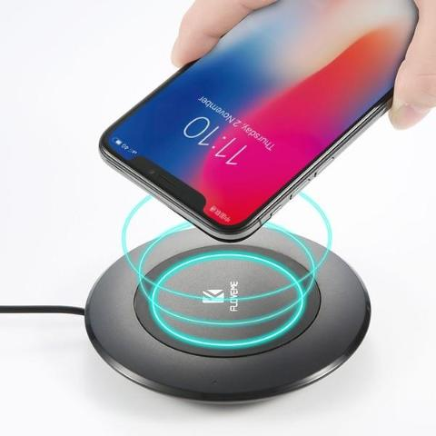 Qi Wireless Phone Charger Dock For Desktop-Gadgets-Pickled Peppa