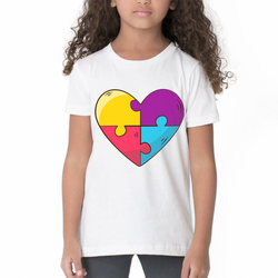 Young Generation T-Shirt - Awesome Heart Design-Kids Clothing-Pickled Peppa