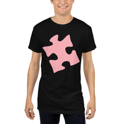 Autism Puzzle - Long Body Urban Tee-T-Shirts-Pickled Peppa