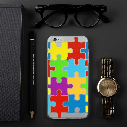 iPhone Case Selection with Puzzle Design-Phone Case-Pickled Peppa