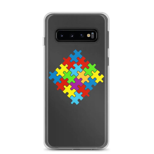 Samsung Phone Cover Selection with Puzzle Emblem-Phone Case-Pickled Peppa