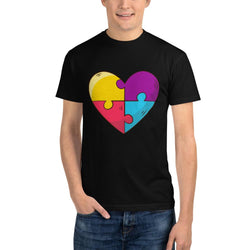 Awesome Heart - Sustainable T-Shirt-T-Shirts-Pickled Peppa