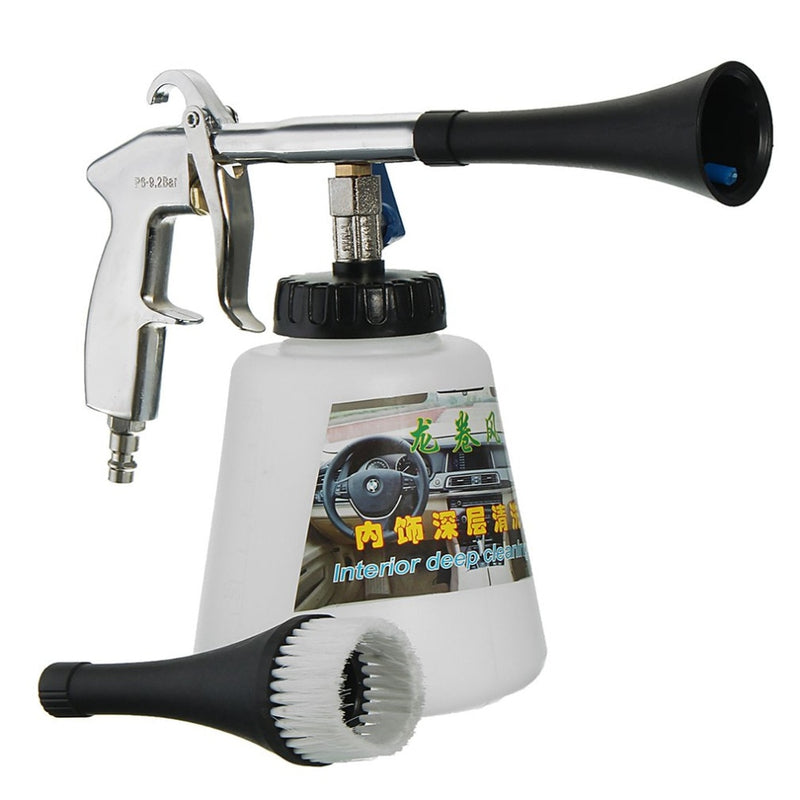 High Pressure Air Pulse Car Cleaning Gun with Brush-Car-Pickled Peppa