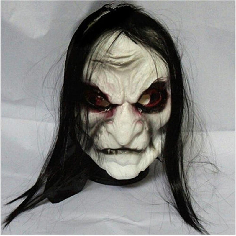 Halloween Grudge Zombie Ghost Mask-Masks-Pickled Peppa