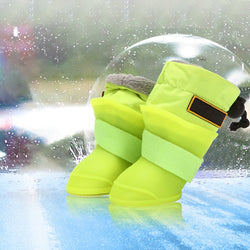 Dogs Superior Non-slip Waterproof Silicone Rain Boots-Pet-Pickled Peppa