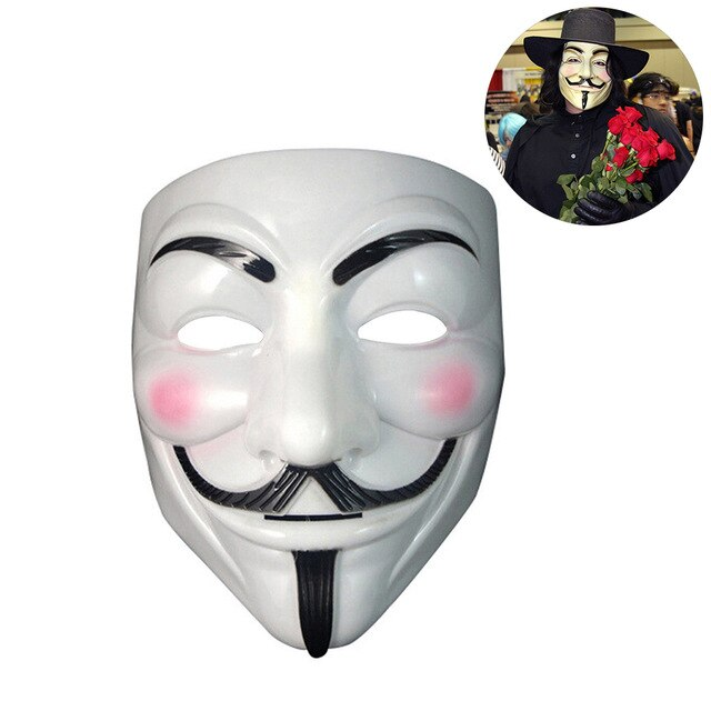Vendetta Latex Party Mask-Masks-Pickled Peppa
