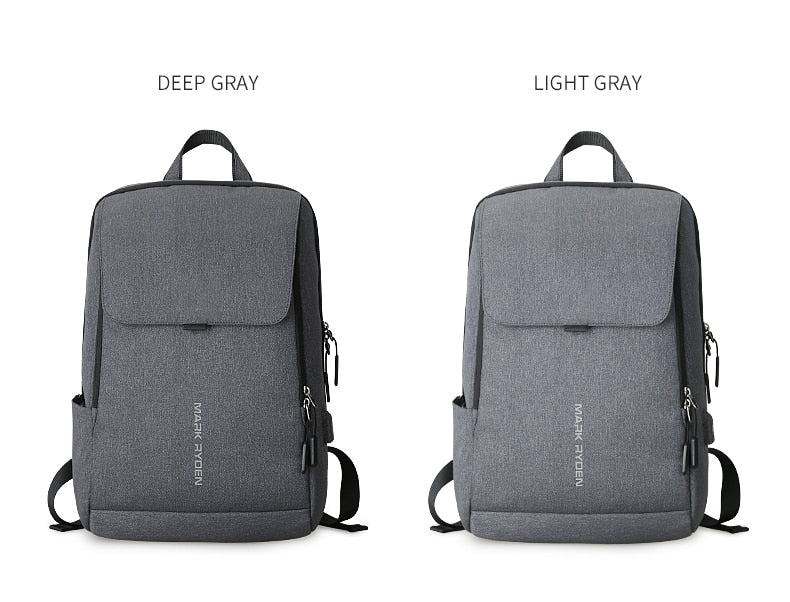 Men's Backpack with USB Charging. Fits 15.6 Inch Laptop-Bags-Pickled Peppa