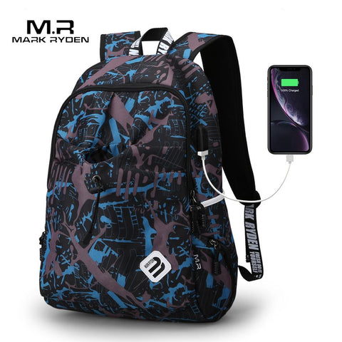 Student Backpack in Water Resistant Nylon-Bags-Pickled Peppa