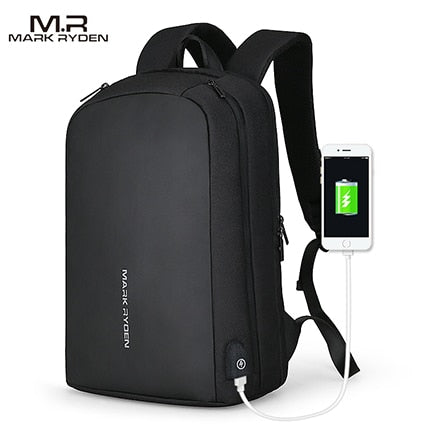 USB Charging Backpack Fits 15.6 Inch Laptop-Bags-Pickled Peppa