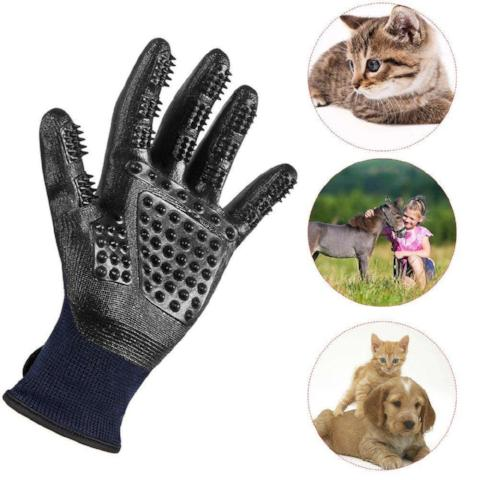 Pet Grooming Gloves That Gently Massage Your Pet-Gadgets-Pickled Peppa